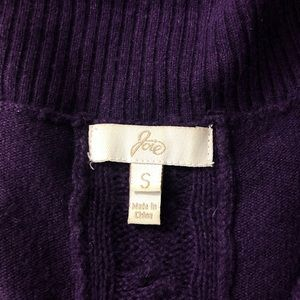 Joie Sweaters - Joie Small Purple Cowl Neck Wool Cashmere Sweater